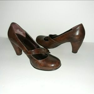 Indigo By Clark's Brown Sz: 6 Heels...